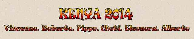 Kenya 2014 viaggio