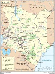 Kenya-Overview-Map