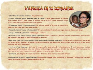 ELEONORA - L'Africa in 10 domande
