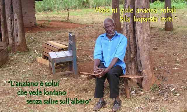 Mzee ni yule anaona mbali bila kupanda miti1