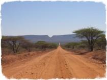 Strada nord Kenya