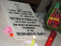 tomba Madre Teresa