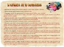 L'Africa in 10 domande Giuliana