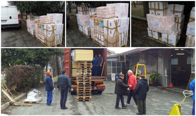 Container febbraio 2015 – Consegna presso la Procura Missioni Consolata di Alpignano