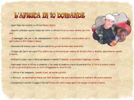 L'Africa in 10 domande Roberto