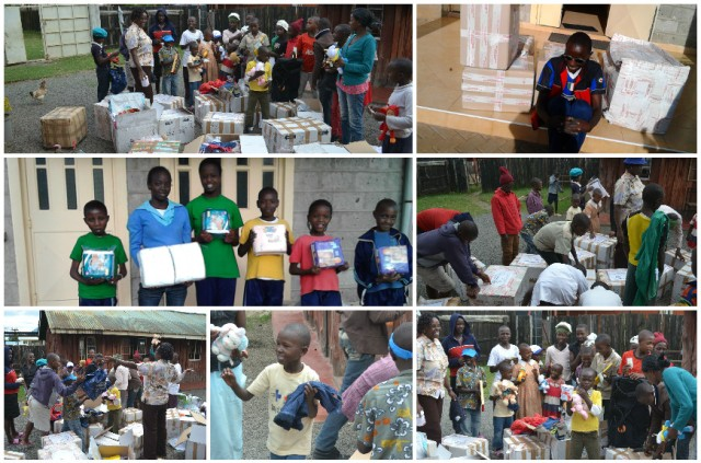 Container febbraio 2015 - Il materiale è finalmente arrivato a Nairobi e Nyahururu