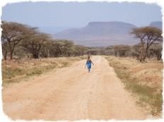 Strada per Wamba