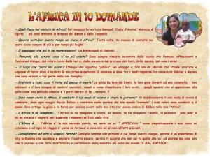 L'Africa in 10 domande Rita