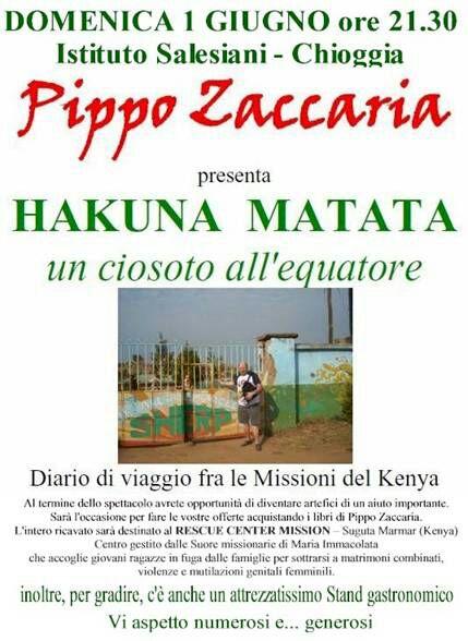 1 giugno 2014 - Spettacolo Hakuna Matata