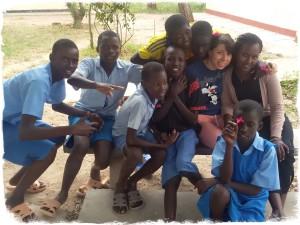 Con i ragazzi di Ngaremara