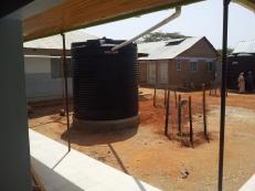 Tank per la raccolta dell'acqua piovana